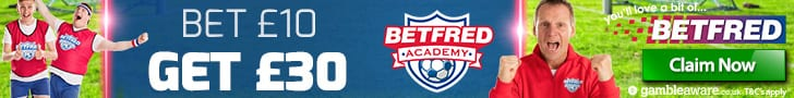 Betfred Free betting offer