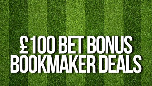 £100 Bet Bonus Deals