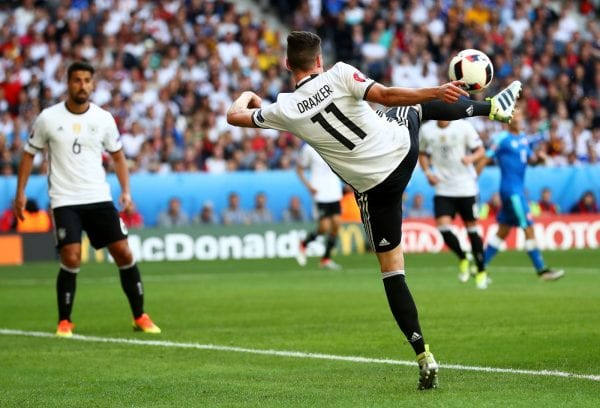 Germany v Italy Euro 2016 Predictions sees Julian Draxler tipped for first goal scorere
