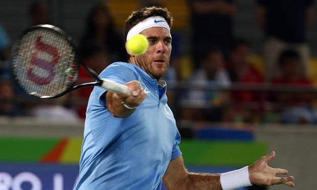 Juan Martin Del Potro ranks high in the ELO rating