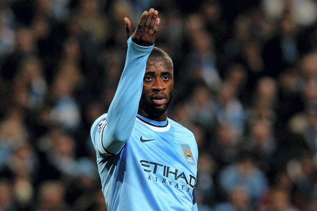 Yaya Toure not looking likely to play at Man City again?