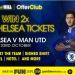Win VIP Day Prizes Chelsea v Man Utd at William Hill