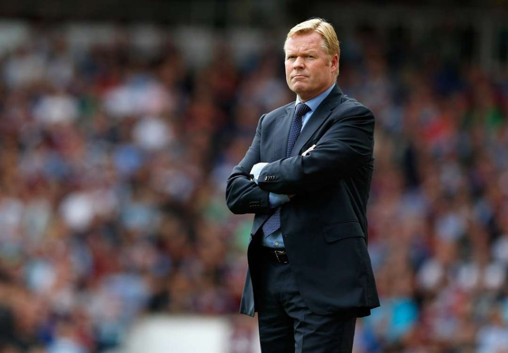 Ronald Koeman could be key in our Manchester City vs Everton Prediction