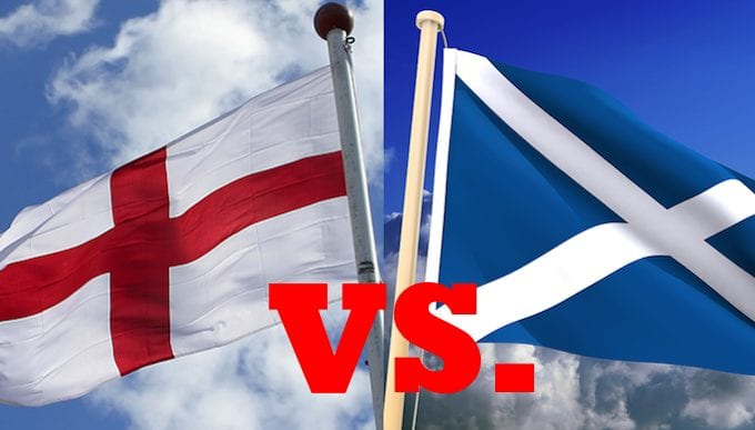 England v Scotland Ladbrokes In Play Offer