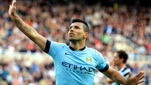 Sergio Aguero Man City dangerman