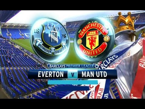 Everton v Manchester United