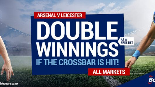 Double Winnings if the Ball hits the Crossbar