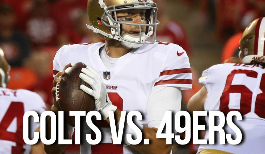 Colts vs. 49ers