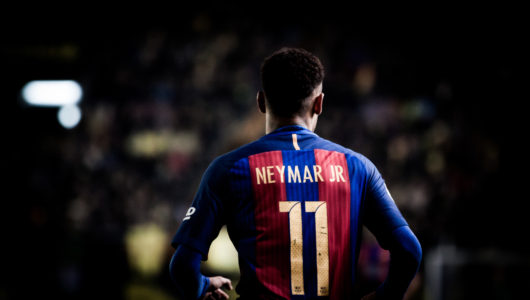 Neymar is being touted by Man Utd