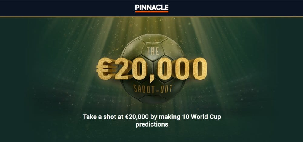 10 World Cup predictions could Win you €20,000 at Pinnacle