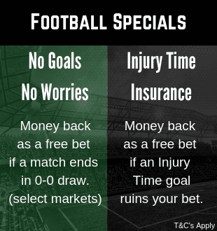 Football betting promotion at Quinnbet bookmaker
