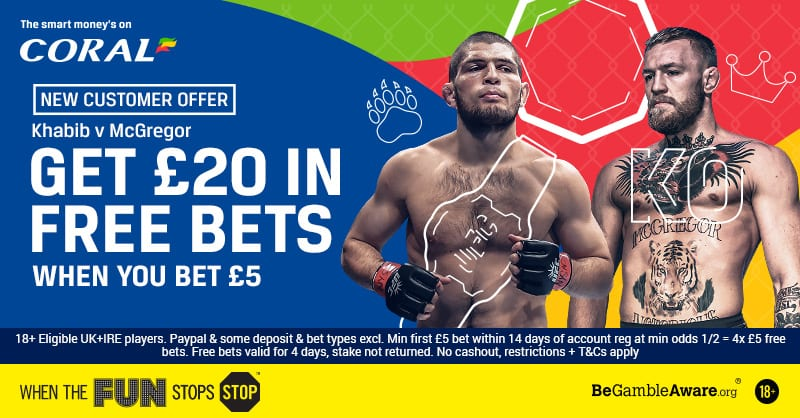 Mcgregor Vs Khabib Bet Promotion