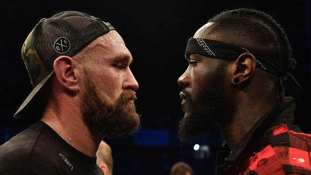 Tyson Fury takes on Deontay Wilder
