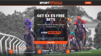 Cheltenham Races Bet Offers at Sportnation Bookmaker