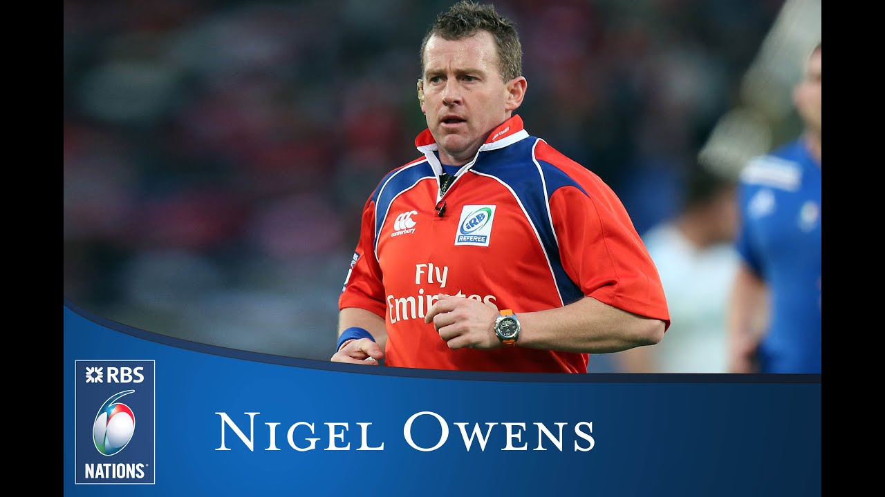 Nigel Owens - Referee