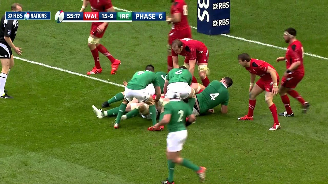 Epic Welsh Defence Part 2, Wales v Ireland, 14th March 2015