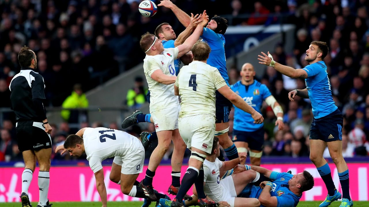 Official Extended Highlights: England 36-15 Italy | RBS 6 Nations
