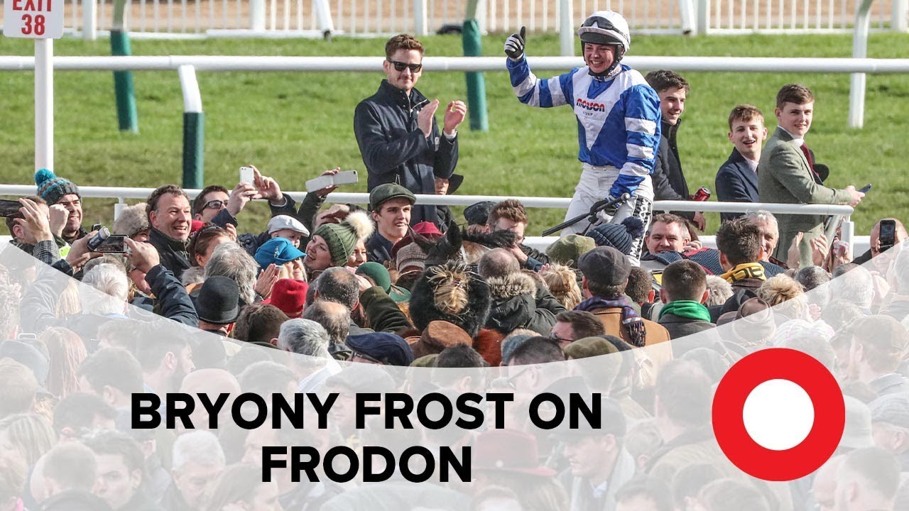 Cheltenham 2019: 'Mate, you've done it!' - Bryony Frost on epic winner Frodon