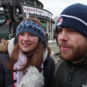 England and Ireland fans after Ireland's Grand Slam on Super Saturday!! | NatWest 6 Nations