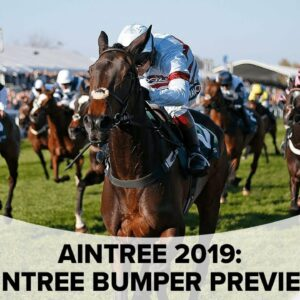 Grand National 2019: Dave Orton's tips for the Bumper