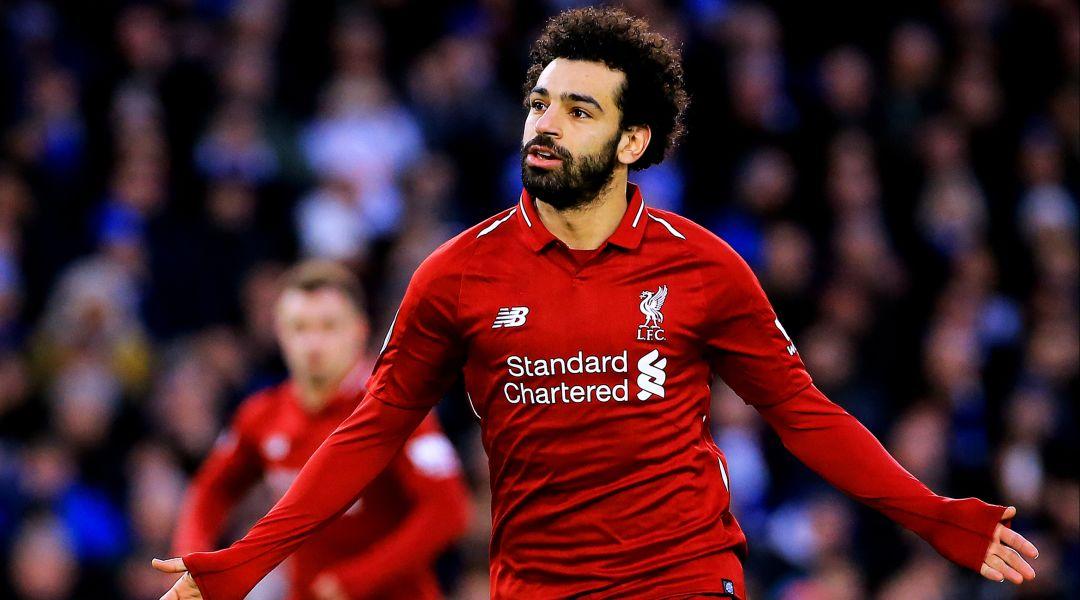 Salah scored in Fulham 1 Liverpool 1