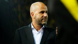 Peter Bosz Bayer Leverkusen manager