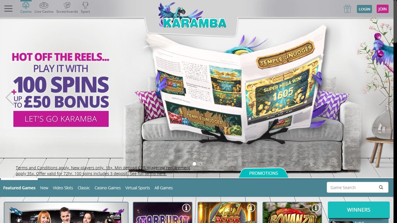 Karamba Casino and Sports Offers