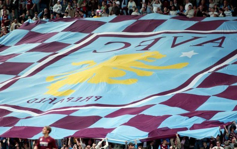 Aston Villa wear Claret and Blue