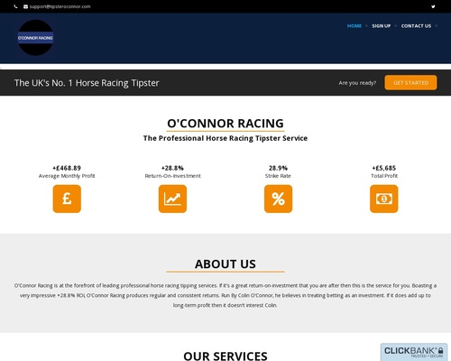 O'Connor Racing – Professional Horse Racing Tips