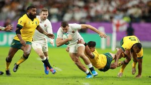 Rugby World Cup Final - Betfair Exchange customers backing England