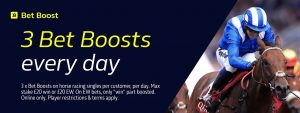 Bet Boost William Hill and Enhance your Horse Racing Odds