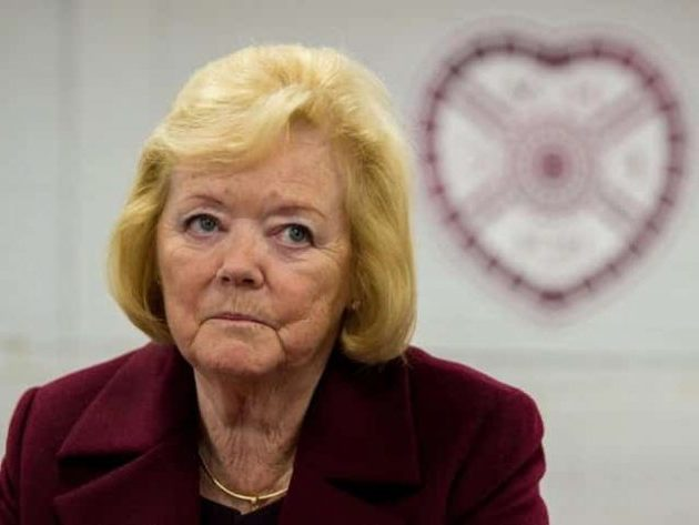 Ann Budge asks Hearts players to take a wage cut of 50%