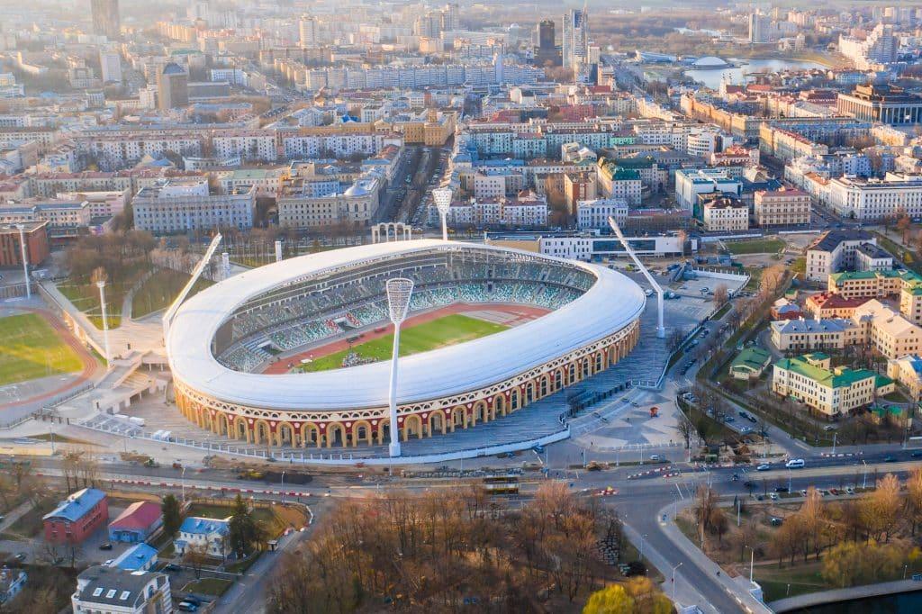 Minsk Football Stadium for Belarus Premier League