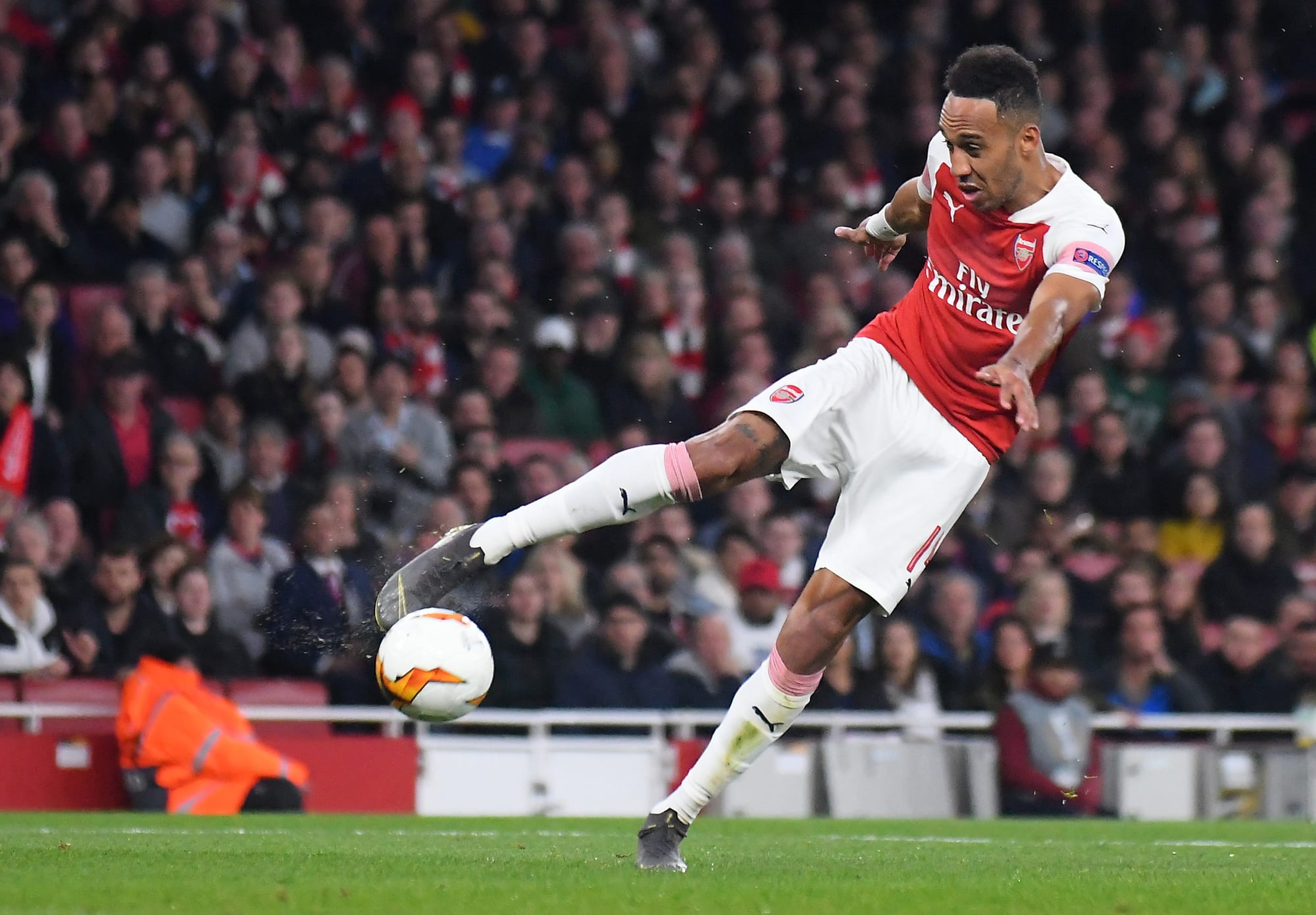 Aubameyang Scores for Arsenal