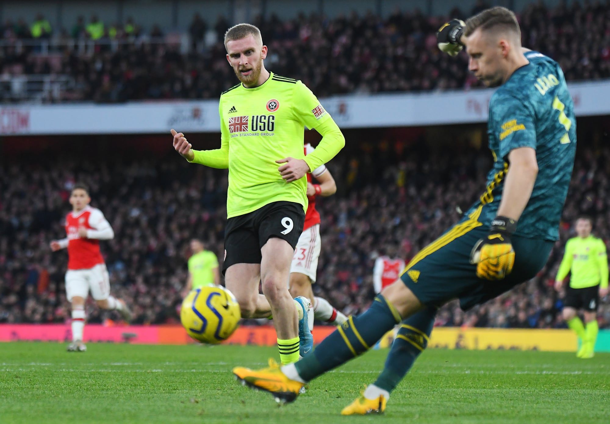 Oli McBurnie Sheffield United match Review