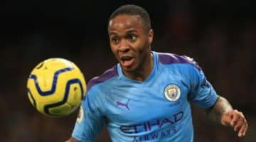 Raheem Sterling Manchester City 1 Arsenal 0