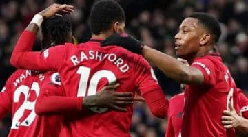 Manchester United 4-0 Norwich City: Marcus Rashford scores twice on 200th appearance