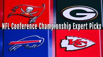 Championship Picks 2021 & Preview - Bills vs Chiefs & Buccaneers vs Packers